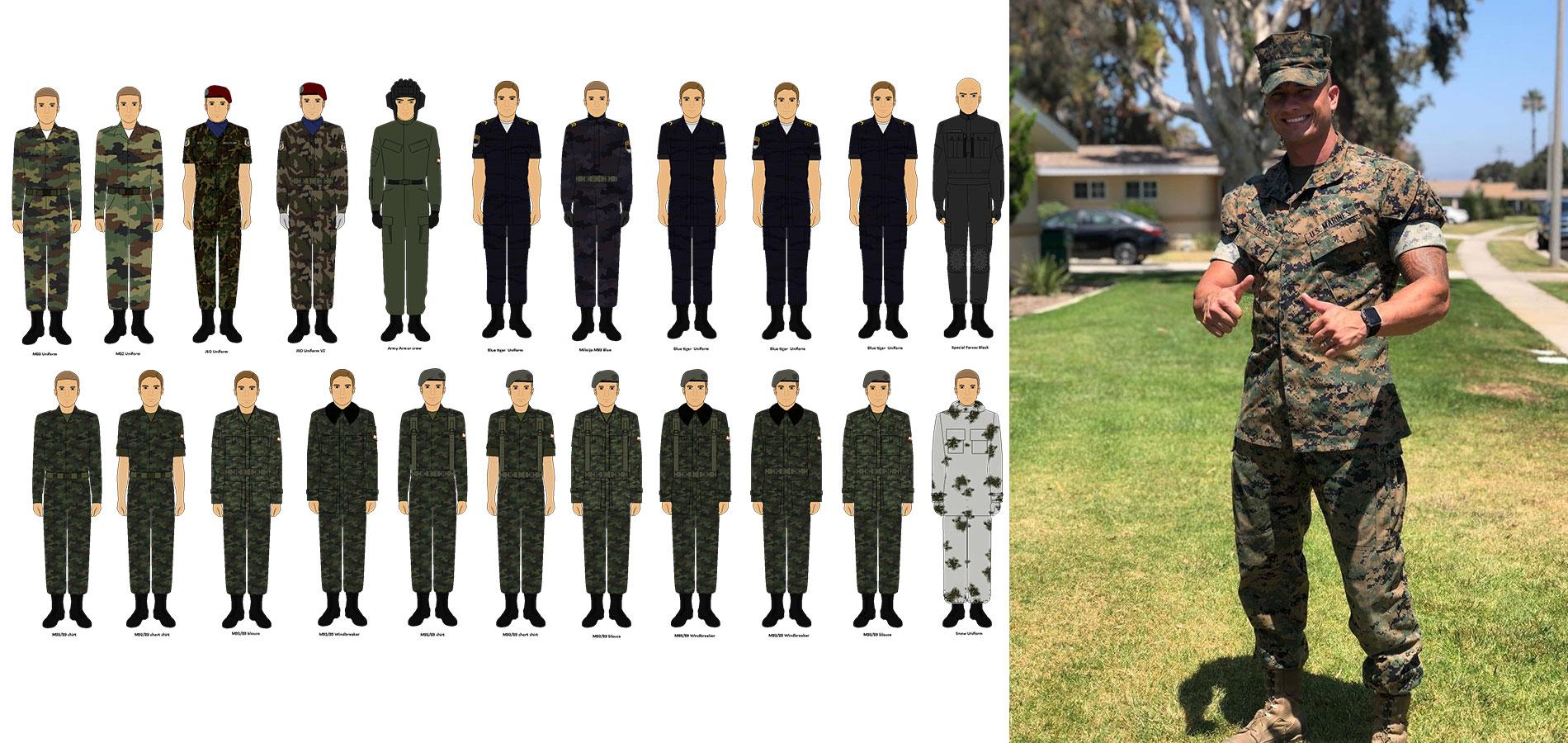 Military Uniform Supplier